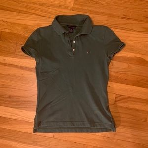 Small Tommy Hilfiger Green Polo